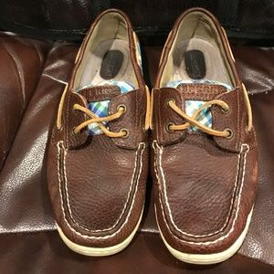Sperry Top-Sider Bluefish Plaid Boat Shoes